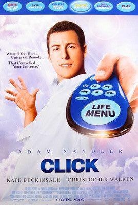 плакат фильма Клик: С пультом по жизни