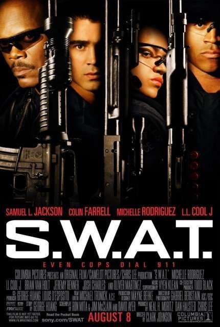плакат фильма S.W.A.T.: Спецназ Города Ангелов