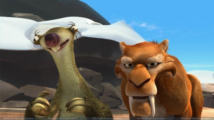 кадры из фильма Ледниковый период 2: Глобальное потепление