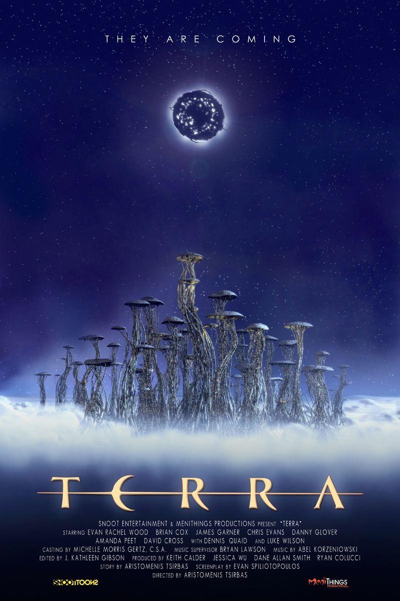 плакат фильма Битва за планету Терра 3D
