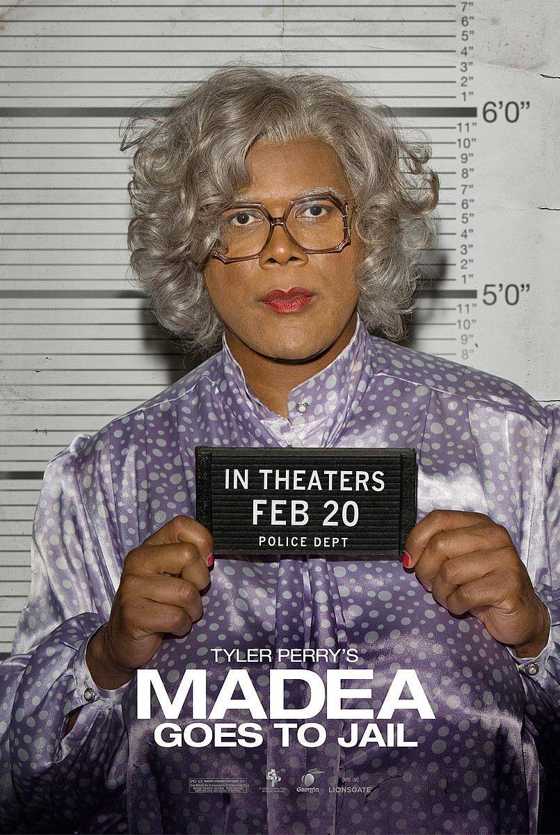 плакат фильма Мэдея в тюрьме*
