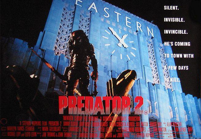 плакат фильма Хищник 2