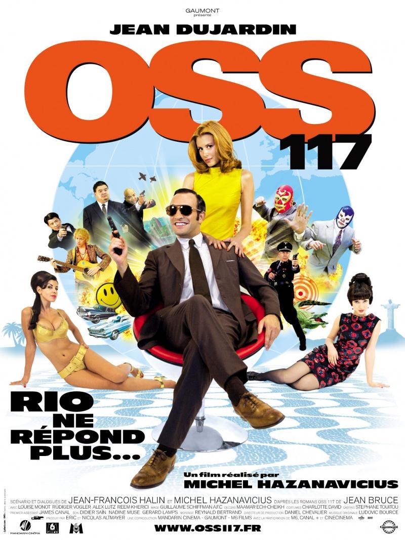 плакат фильма Агент 117: Миссия в Рио
