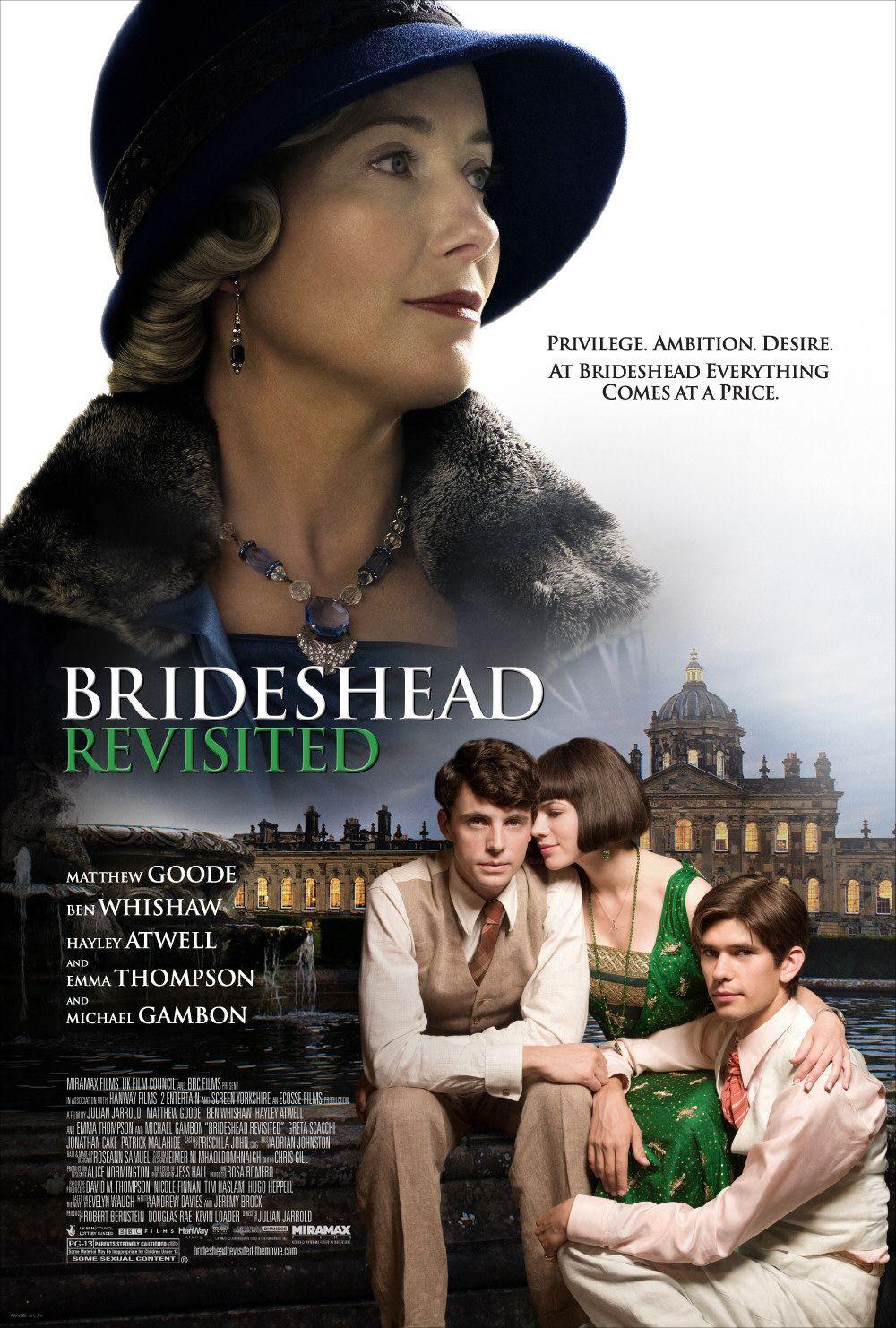 плакат фильма Возвращение в Брайдсхед