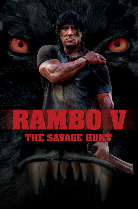 плакат фильма Рэмбо: Последняя кровь