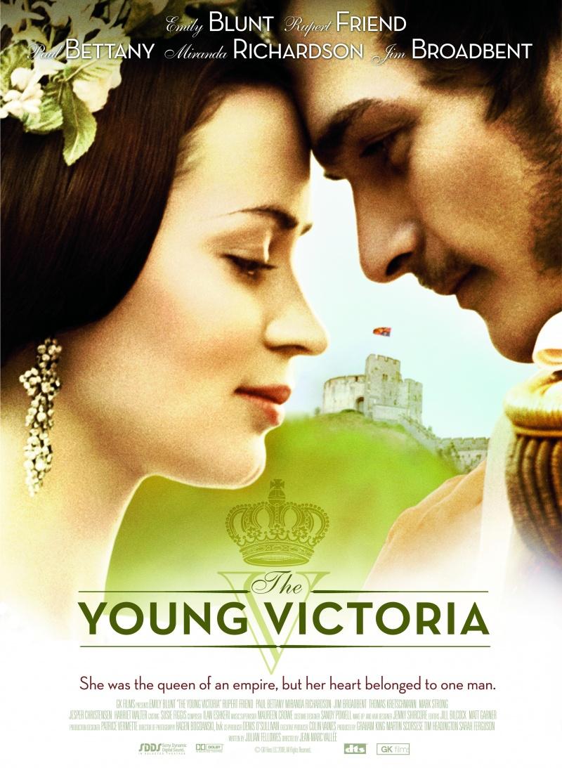 плакат фильма Молодая Виктория