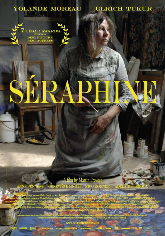плакат фильма Серафина из Санлиса