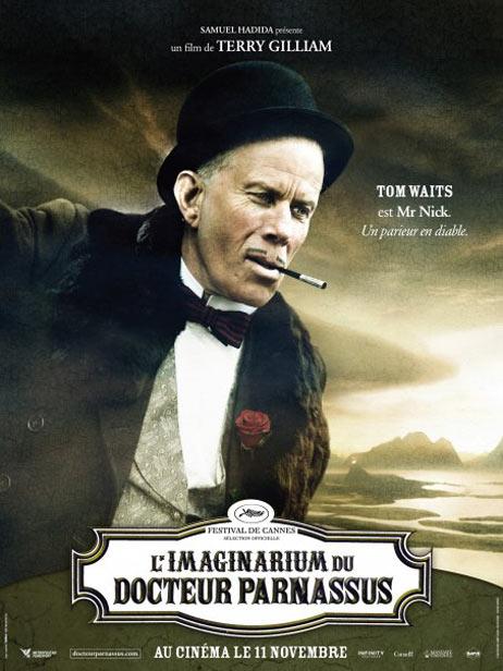 плакат фильма Воображариум доктора Парнаса Том Уэйтс,