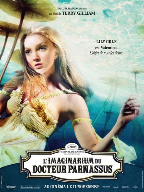 плакат фильма Воображариум доктора Парнаса Лили Коул,