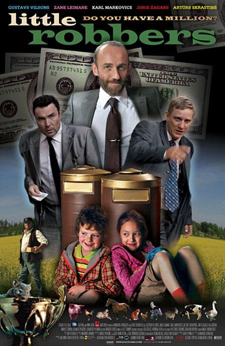 плакат фильма Маленькие разбойники