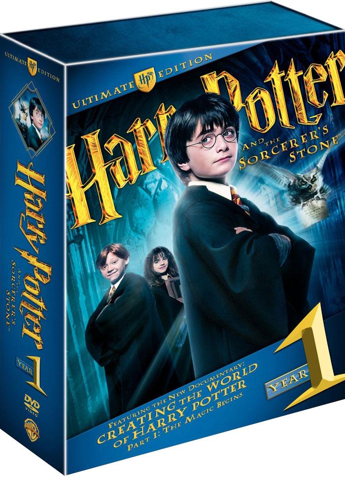 плакат фильма DVD Гарри Поттер и Философский камень
