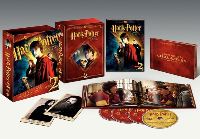 другие DVD Гарри Поттер и Тайная комната