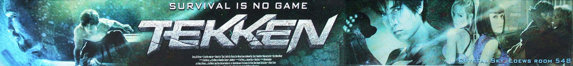 плакат фильма баннер Теккен