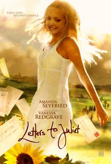 плакат фильма тизер Письма к Джульетте