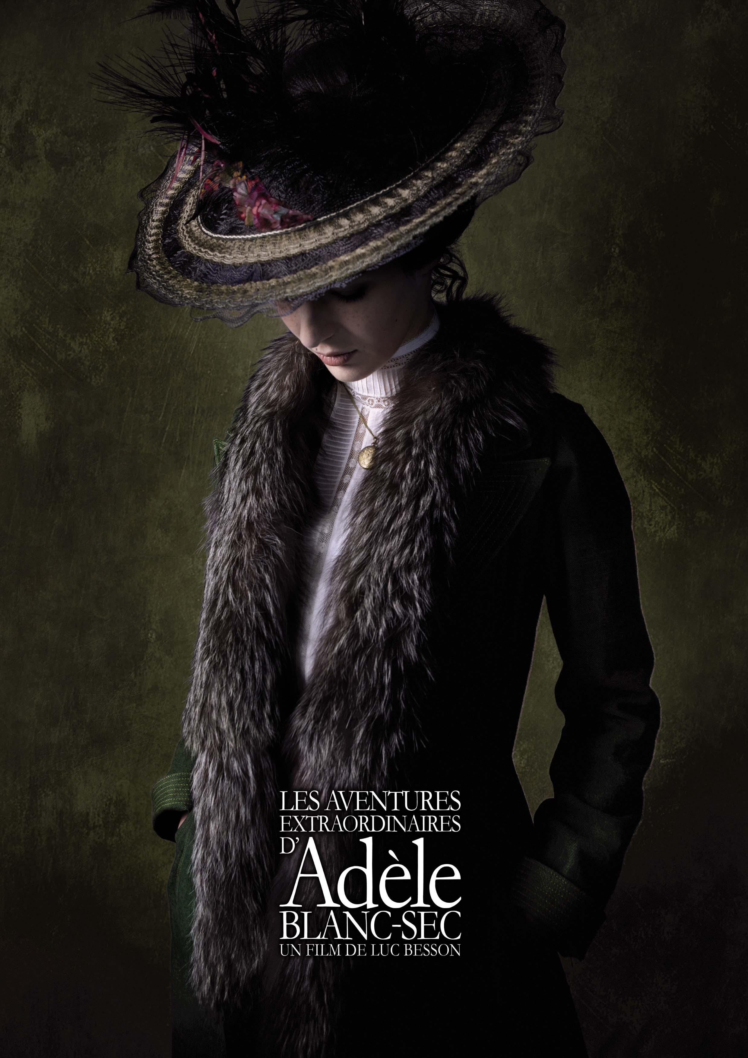 плакат фильма тизер Необычайные приключения Адель