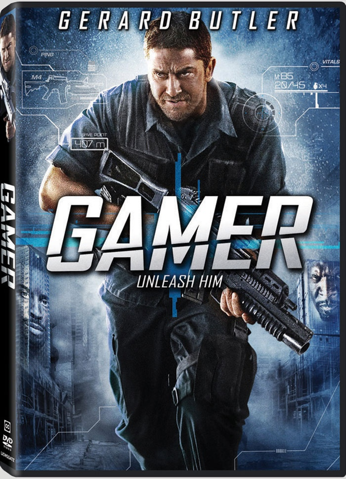 плакат фильма DVD Геймер