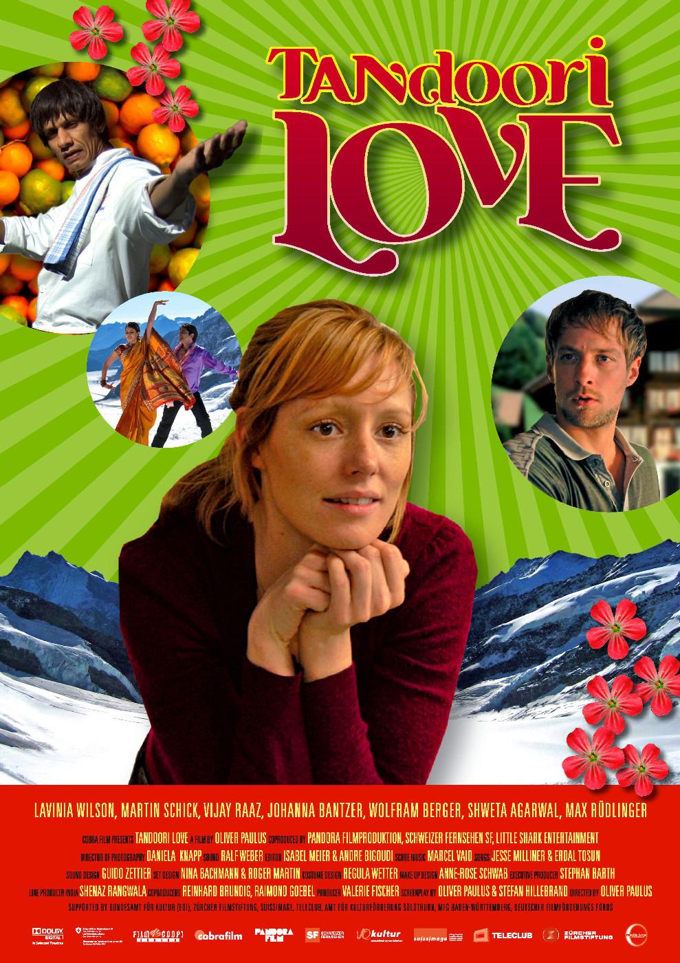 плакат фильма Любовь кулинара с индийской приправой