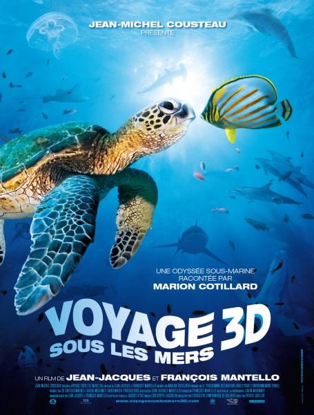 плакат фильма Большое путешествие вглубь океанов 3D: Возвращение