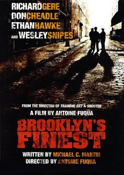 плакат фильма Бруклинские полицейские
