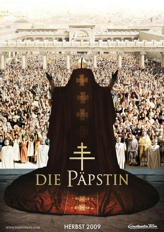 плакат фильма тизер Иоанна — женщина на папском престоле