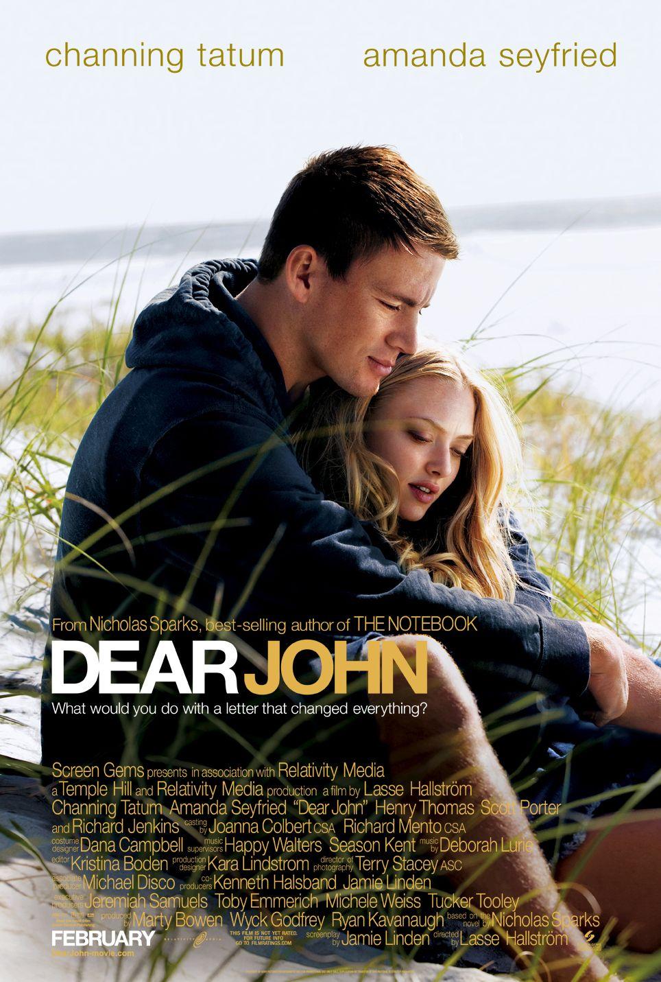 плакат фильма Дорогой Джон