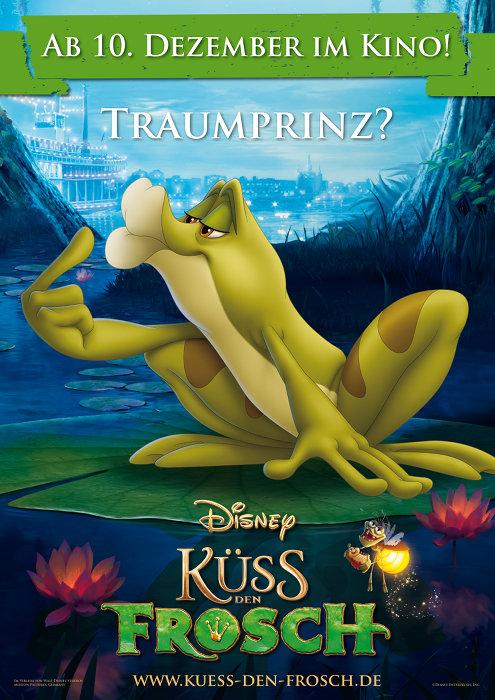 плакат фильма Принцесса и лягушка