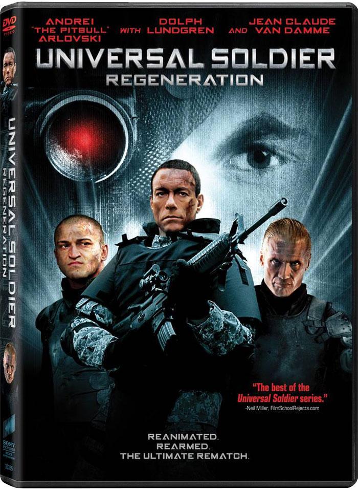 плакат фильма Универсальный солдат: Возрождение