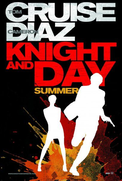 плакат фильма тизер Рыцарь дня