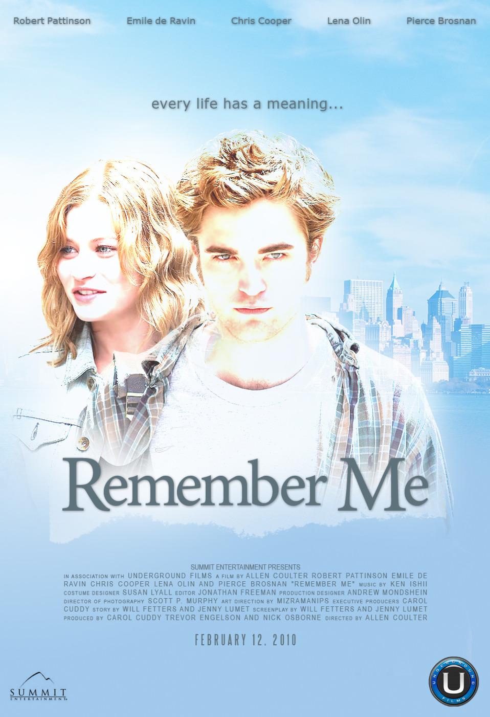 плакат фильма Помни меня