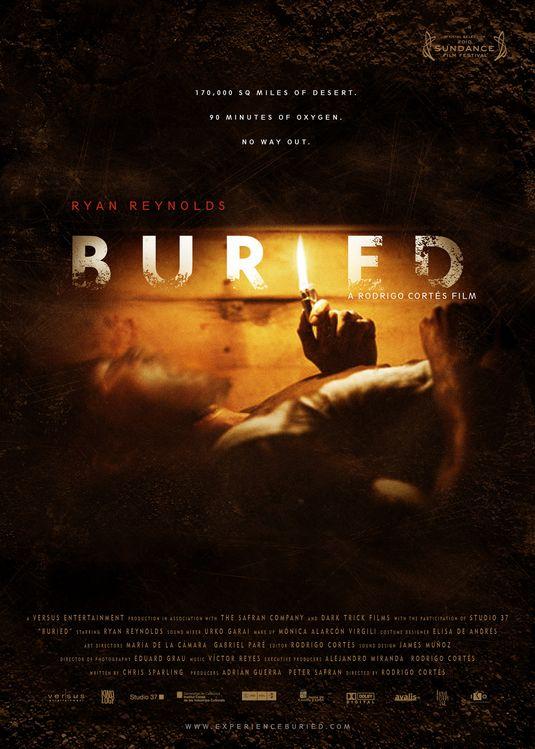 плакат фильма тизер Погребенный заживо