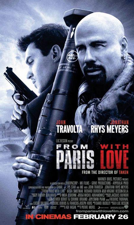 плакат фильма Из Парижа с любовью