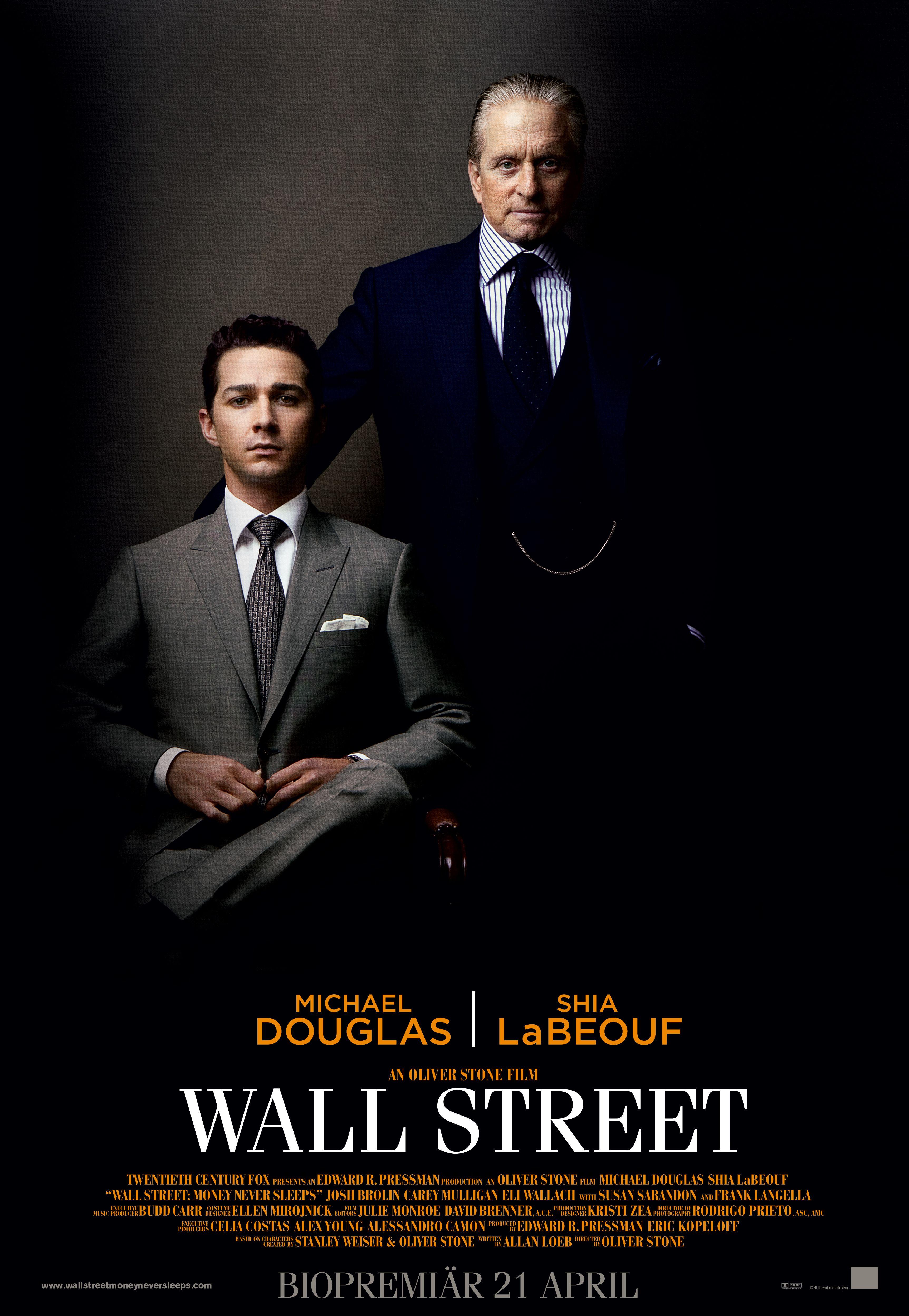 плакат фильма тизер Уолл-стрит: Деньги не спят