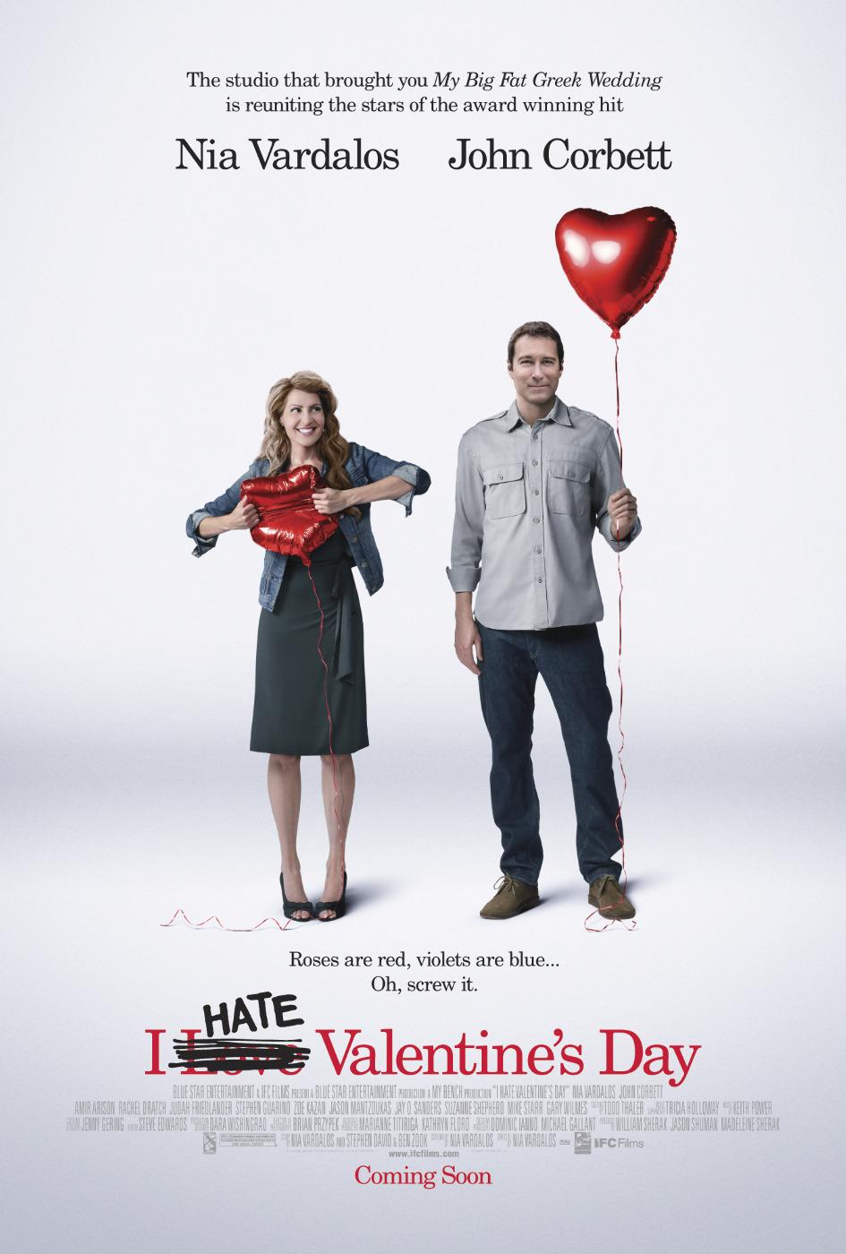 плакат фильма Я ненавижу день Святого Валентина