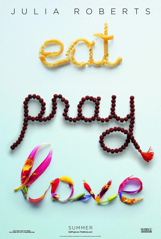 плакат фильма тизер Ешь, молись, люби