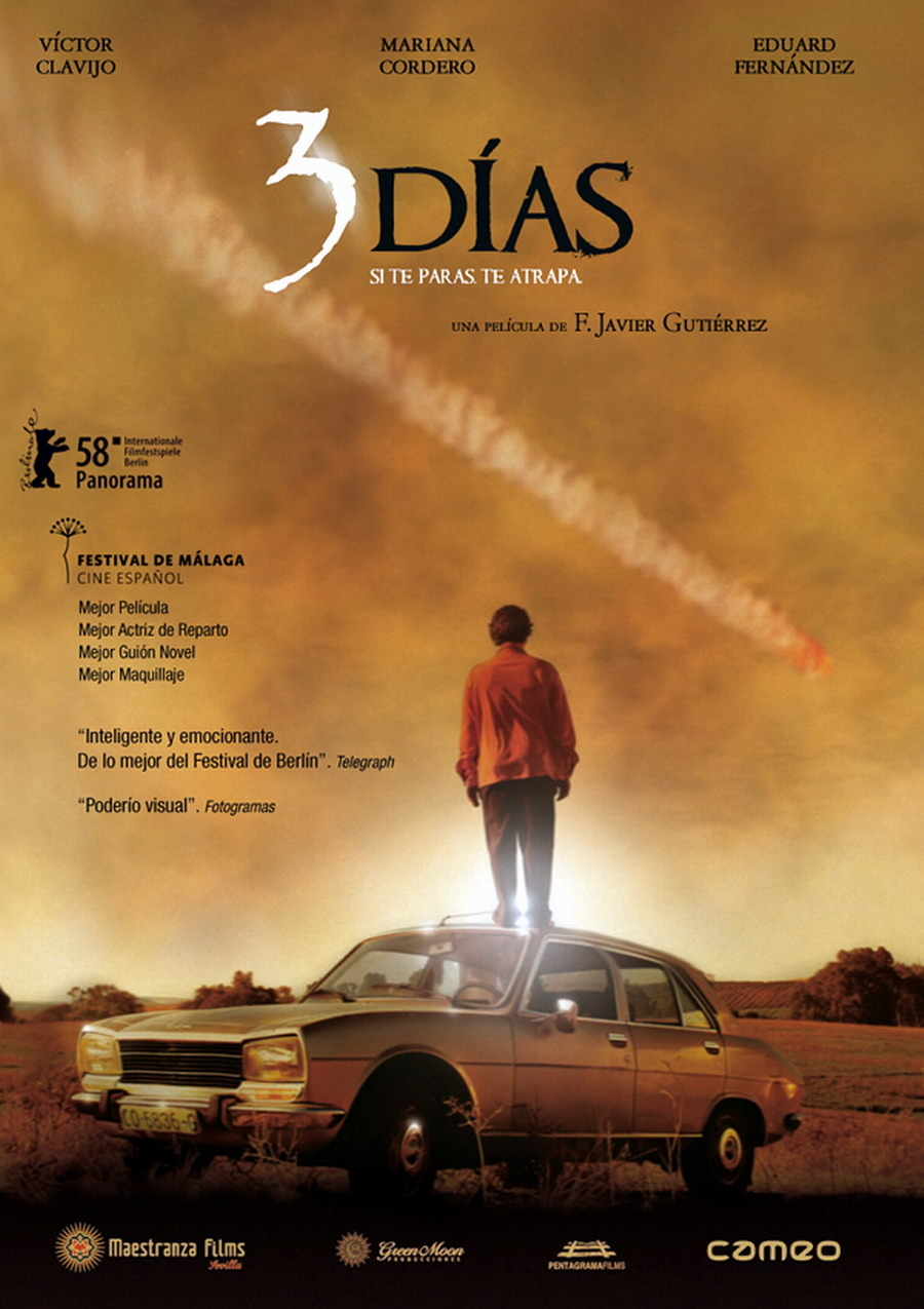 плакат фильма Три дня