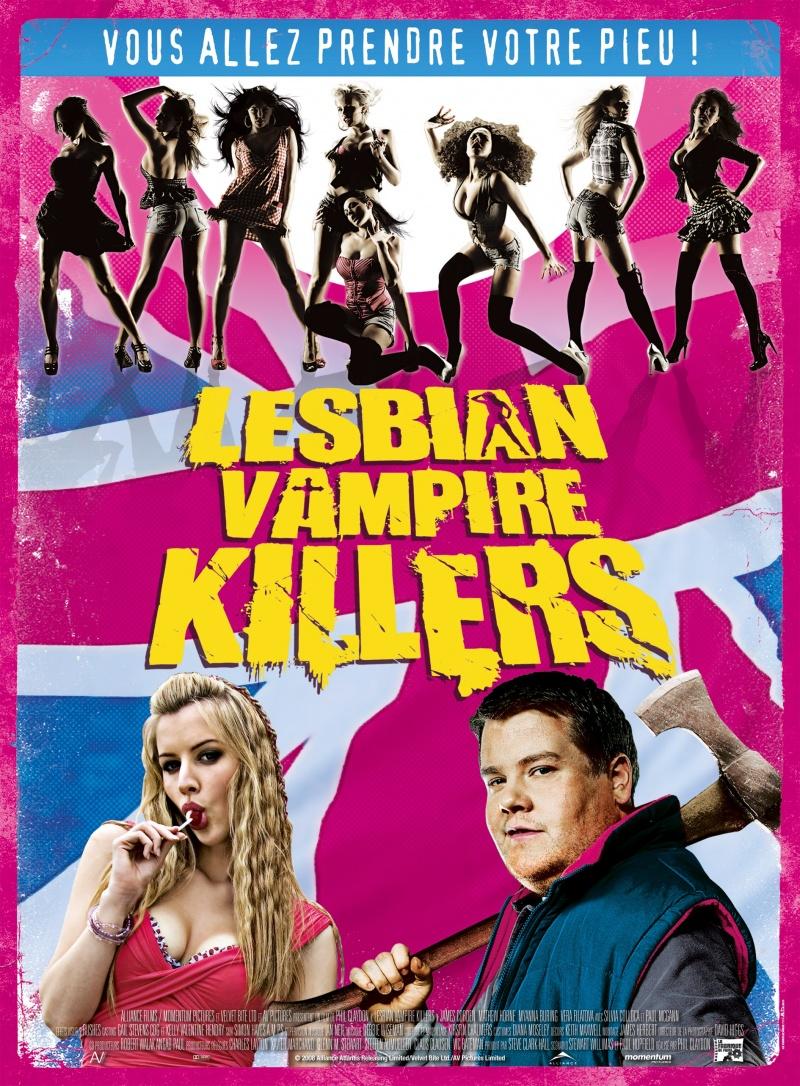 плакат фильма Убийцы вампирш-лесбиянок