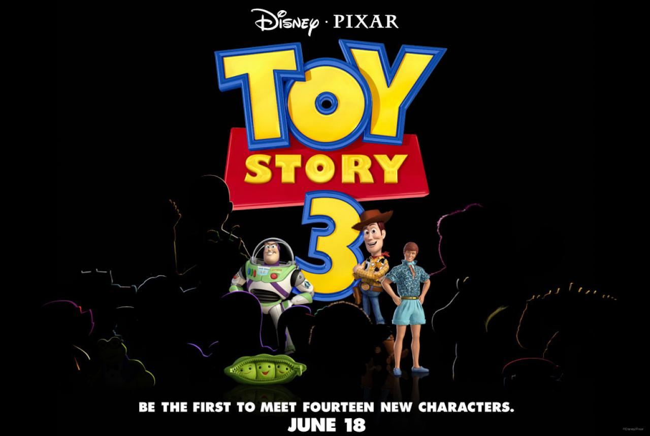 плакат фильма История игрушек: Большой побег