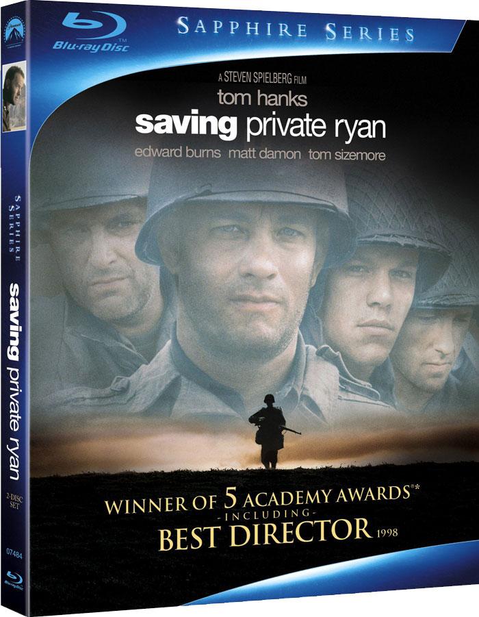 плакат фильма Blu-Ray Спасти рядового Райана