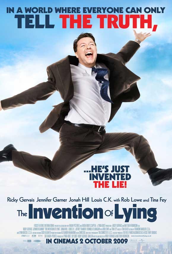 плакат фильма постер Изобретение лжи*