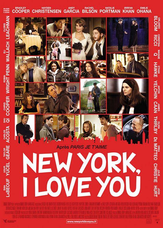 плакат фильма постер Нью-Йорк, я люблю тебя