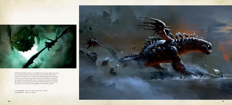 концепт-арты Как приручить дракона