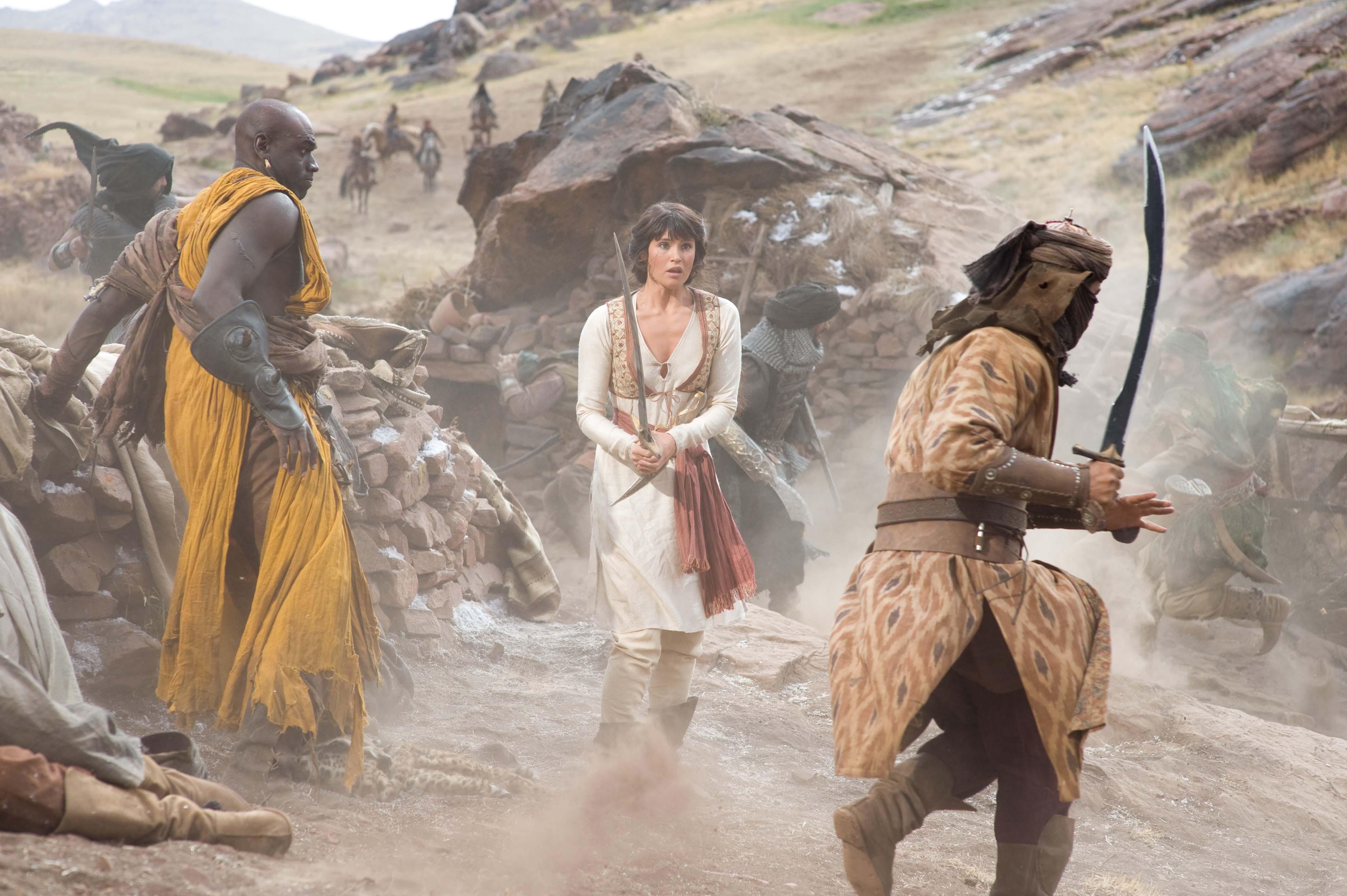 кадры из фильма Принц Персии: Пески времени Джемма Артертон,