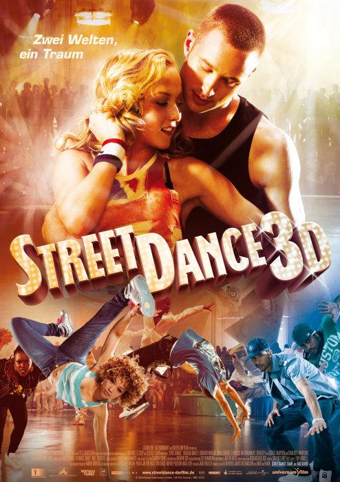 плакат фильма постер Уличные танцы 3D