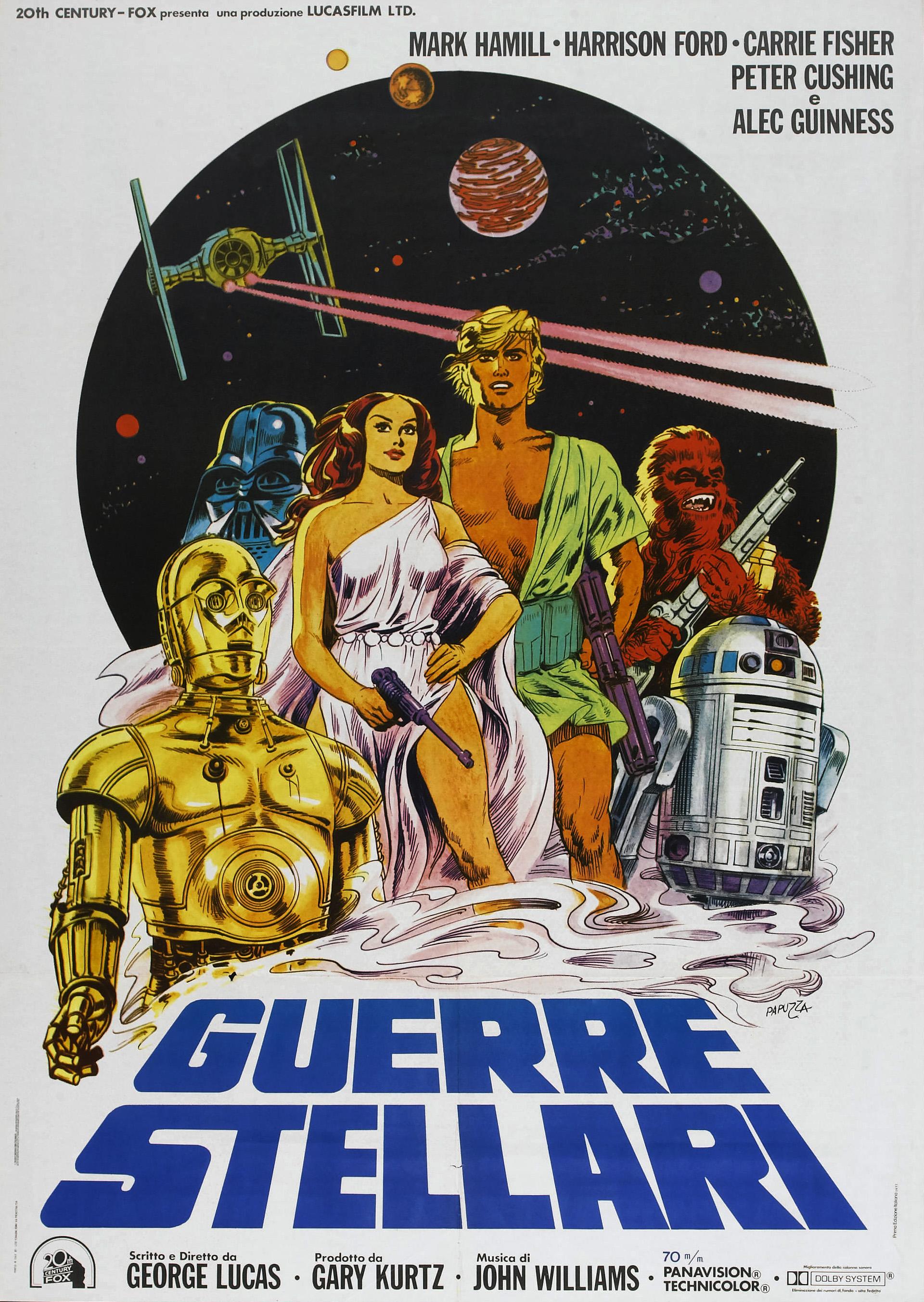 плакат фильма постер Звездные войны: Эпизод IV — Новая надежда
