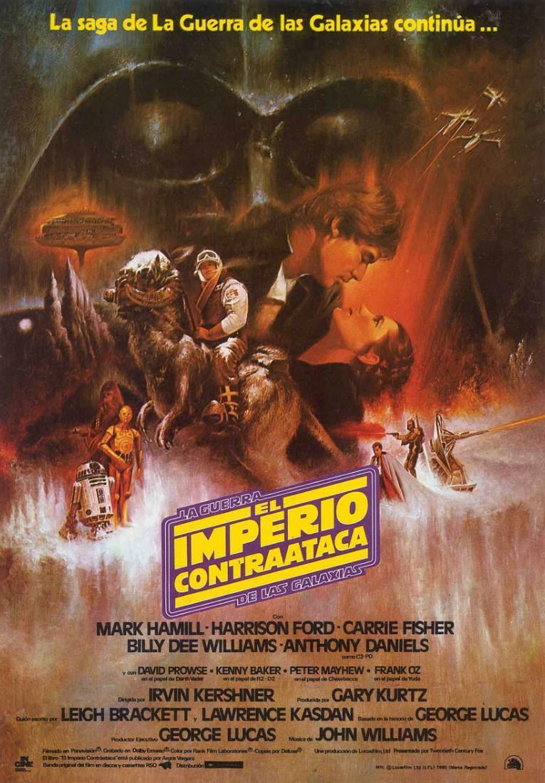 плакат фильма постер Звездные войны: Эпизод V — Империя наносит ответный удар