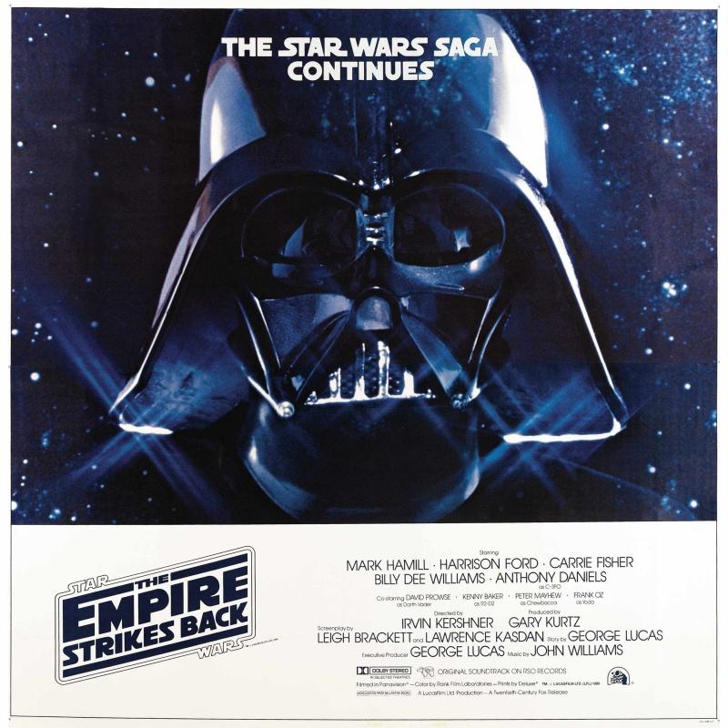 плакат фильма биллборды Звездные войны: Эпизод V — Империя наносит ответный удар