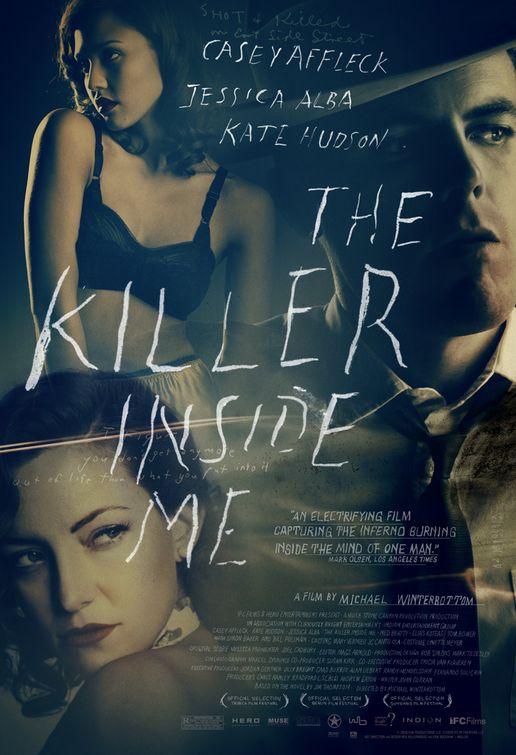 плакат фильма постер Убийца внутри меня