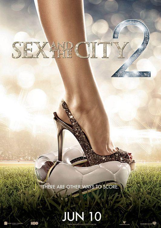 плакат фильма тизер Секс в большом городе 2