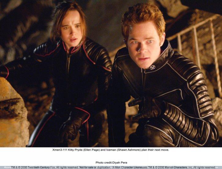 кадры из фильма Люди Икс: Последняя битва Эллен Пэйдж, Шон Эшмор,