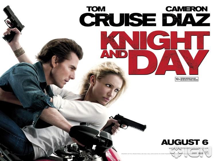 плакат фильма биллборды Рыцарь дня
